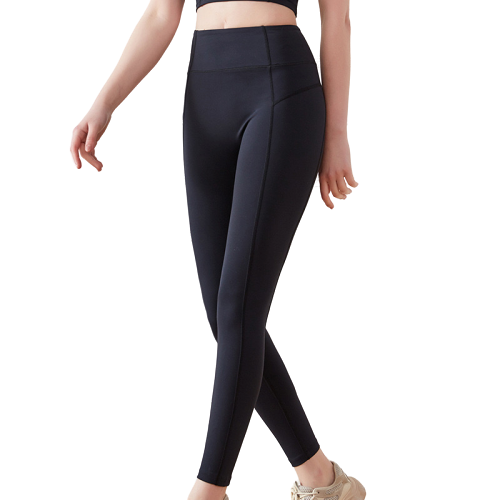 [ Active Wear ] Stretch Material Yoga Pants / Leggings in Black