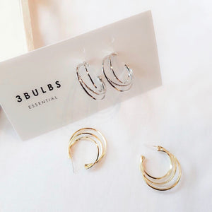 3bulbs Essential Bold Earring