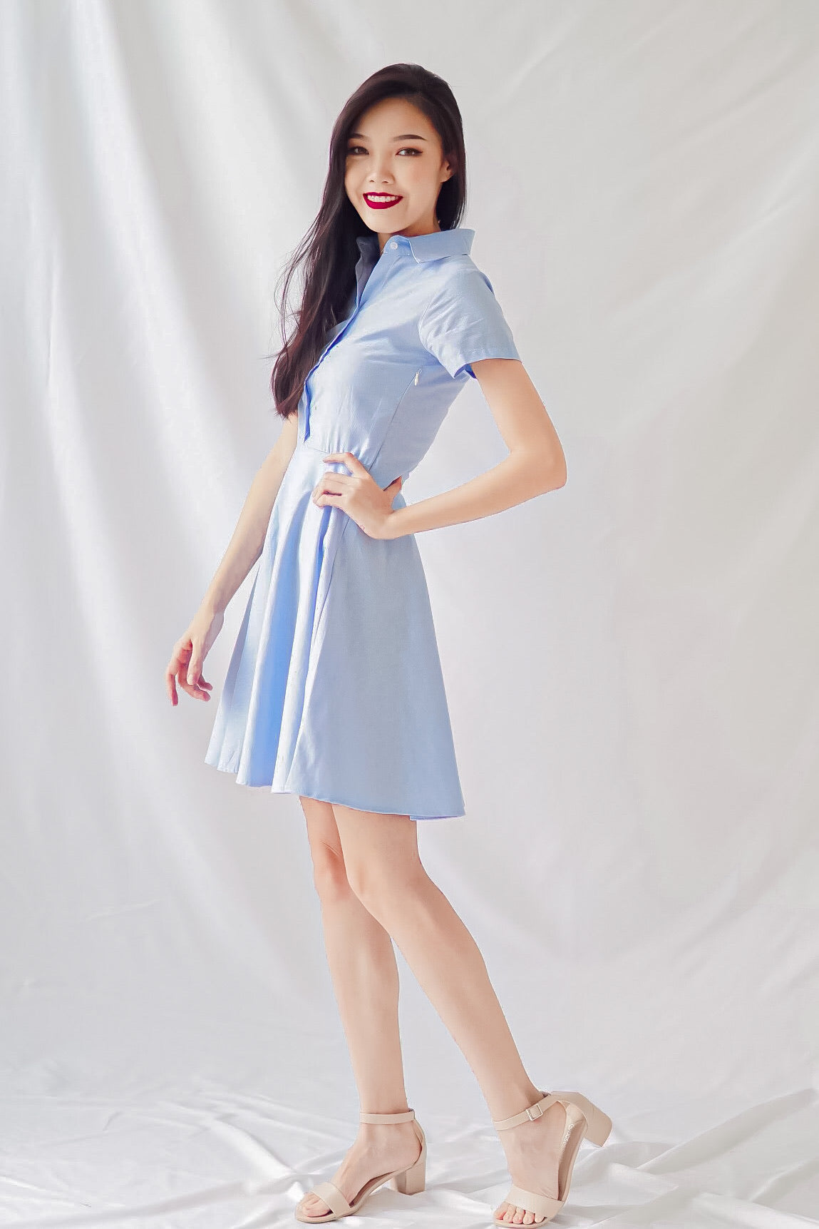 Duscha Dress in Blue