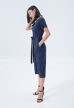 Load image into Gallery viewer, Ronia Jumpsuit in Navy Blue