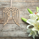 Wood Angel Wing Decoration Comes in 3 sizes Small Medium Large