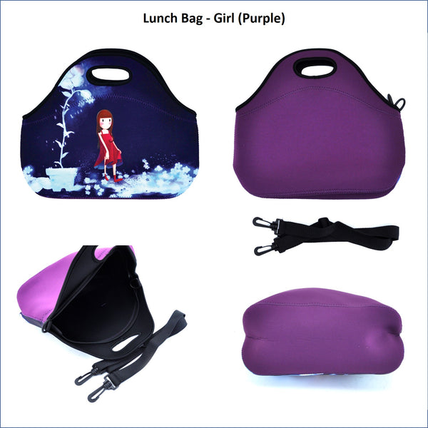 Lunch Bag - Girl (Purple)