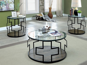 Christabel Set with Coffee Table & 2 Side Tables - InteriorDesignsToGo.com