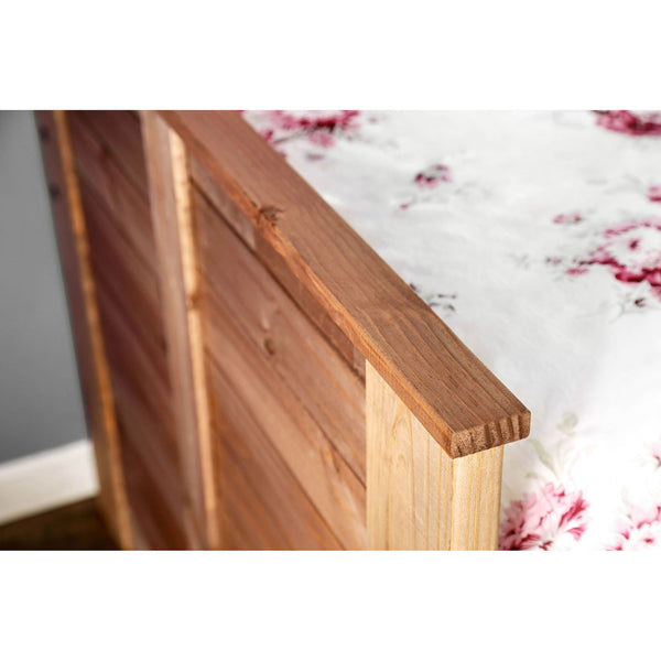 Lia Rustic Twin Captain Bed w- 1 Slat Kit (*Mattress Ready) - InteriorDesignsToGo.com