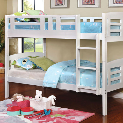Cassie Twin-Twin Bunk Bed - InteriorDesignsToGo.com