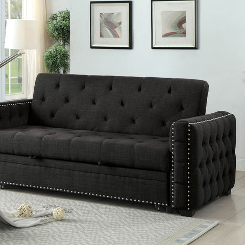 Iona Transitional Futon Sofa - InteriorDesignsToGo.com