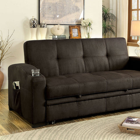 Mavis Transitional Futon Sofa - InteriorDesignsToGo.com