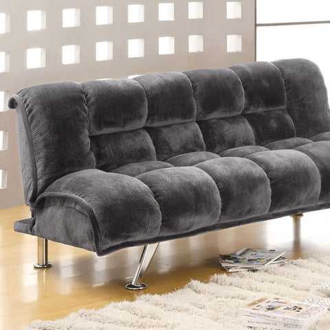 Marbelle Contemporary Futon Sofa + Chairs - InteriorDesignsToGo.com