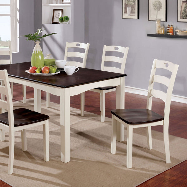 Liliana Transitional 7 Pc. Dining Table Set - InteriorDesignsToGo.com