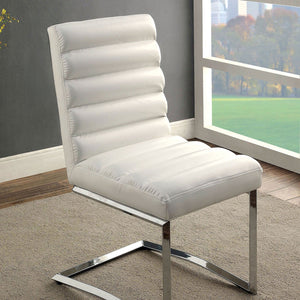 LIVADA I Contemporary Side Chair (2-CTN), White - InteriorDesignsToGo.com