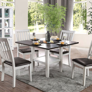 Rae Transitional 5 Pc. Dining Table Set - InteriorDesignsToGo.com