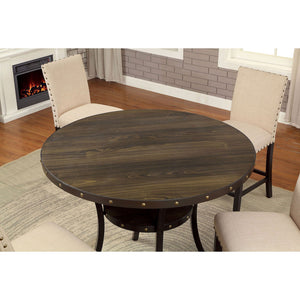 Kaitlin Transitional 5 Pc. Dining Table Set - InteriorDesignsToGo.com
