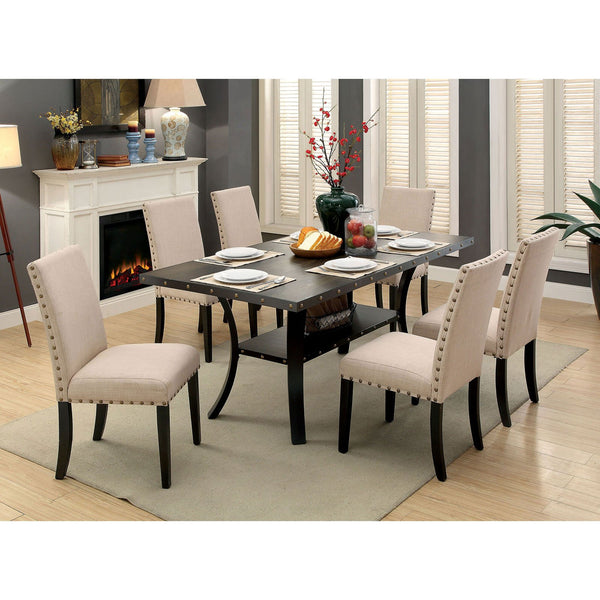 Kaitlin Transitional Dining Table - InteriorDesignsToGo.com