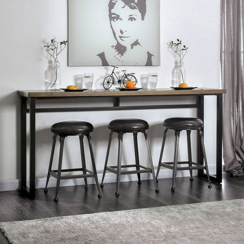 Mullins Industrial 4 Pc. Counter Ht. Table Set - InteriorDesignsToGo.com