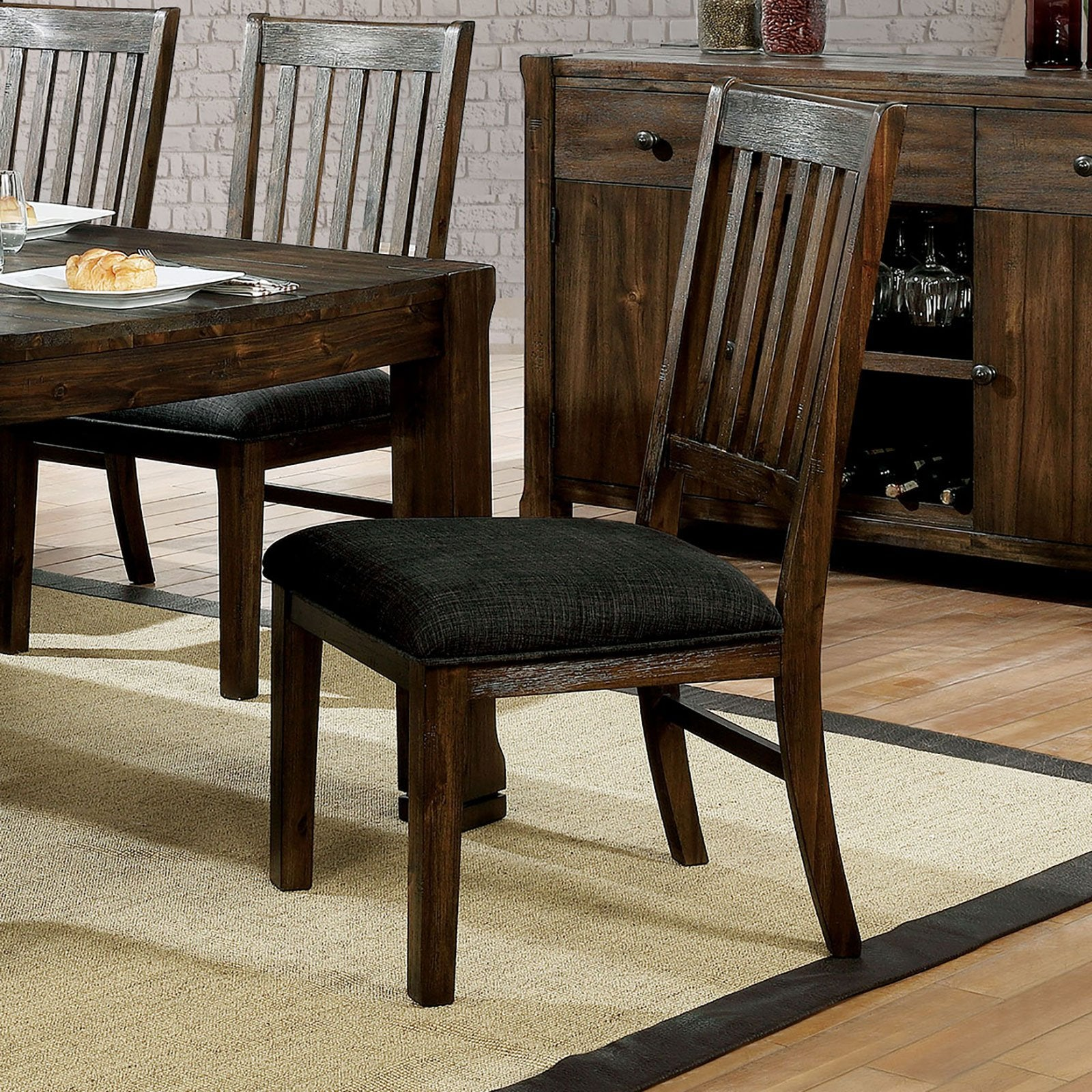 Scranton Rustic Side Chair (2-CTN) - InteriorDesignsToGo.com