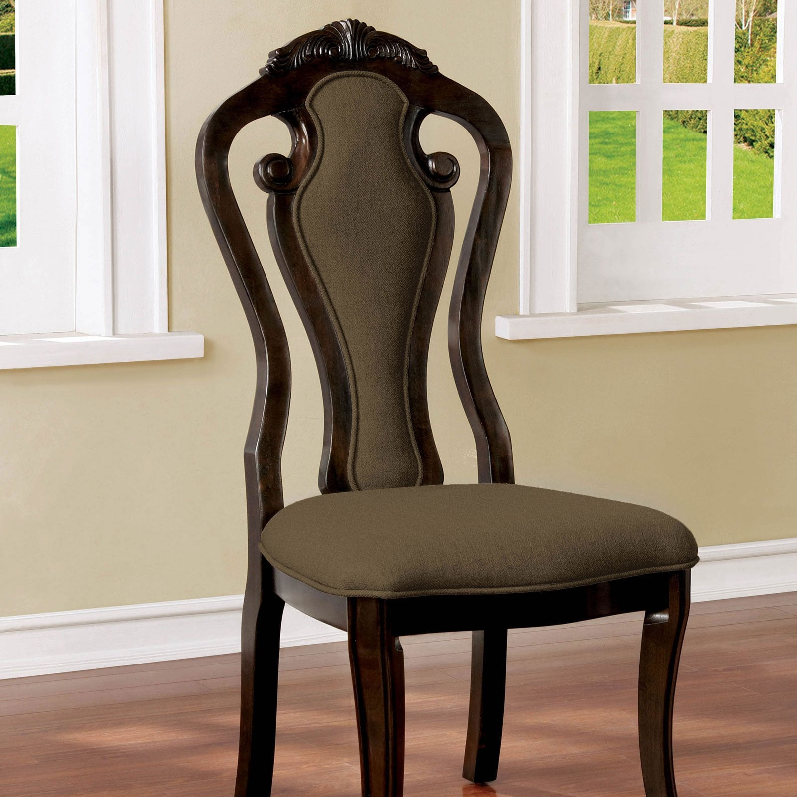 Rosalina Traditional Side Chair (2-CTN) - InteriorDesignsToGo.com