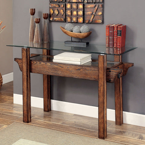 PENNY Industrial Sofa Table - InteriorDesignsToGo.com
