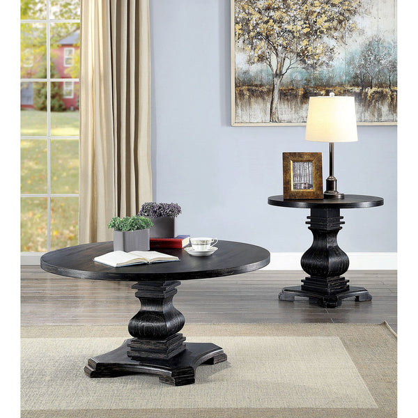 Isabell Traditional End Table - InteriorDesignsToGo.com