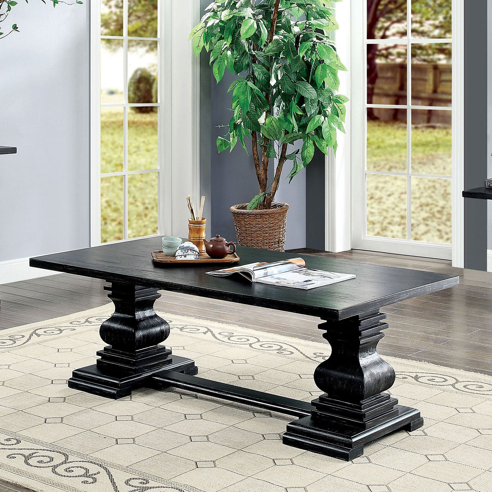 Mirabel Traditional Coffee Table - InteriorDesignsToGo.com