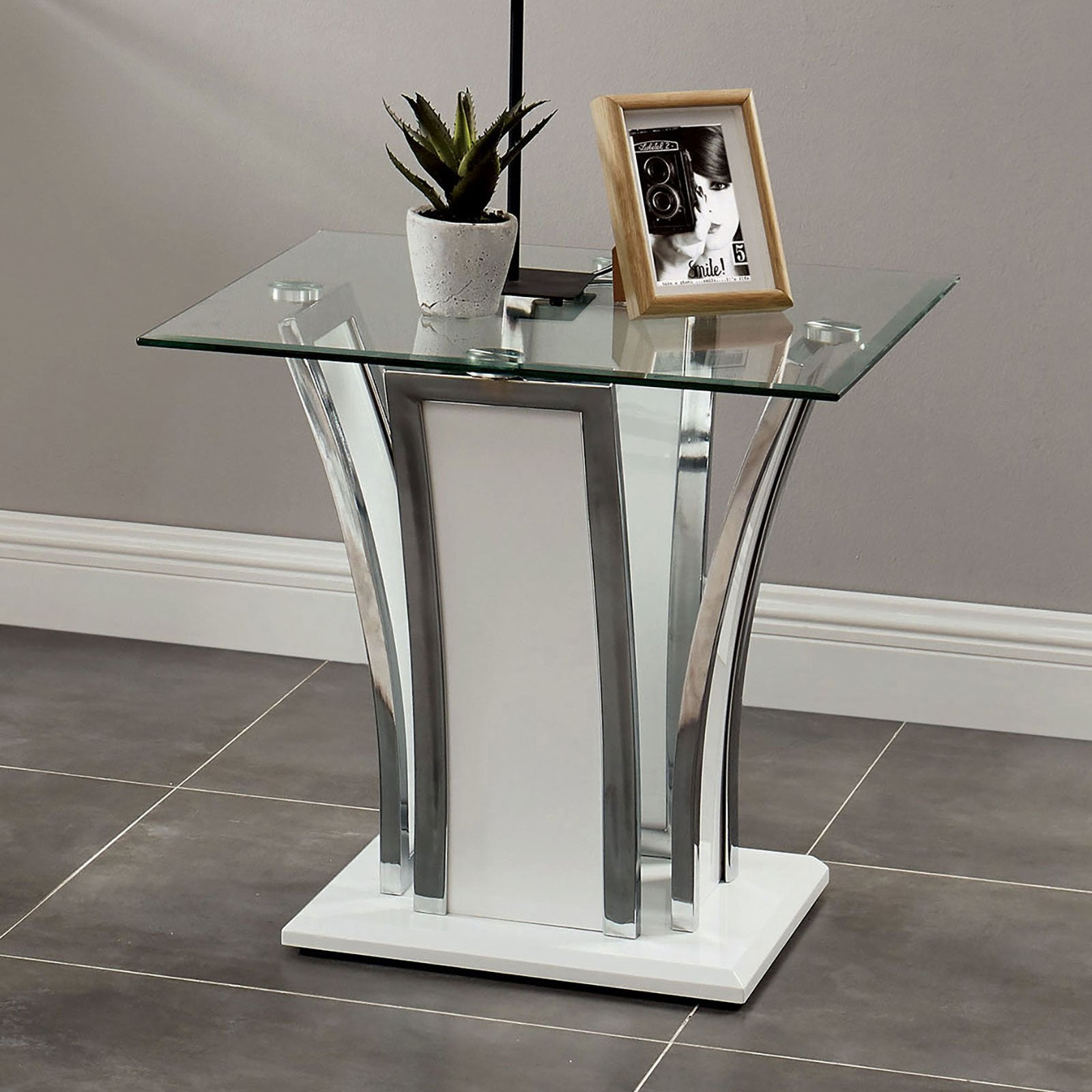 Staten Contemporary End Table - InteriorDesignsToGo.com