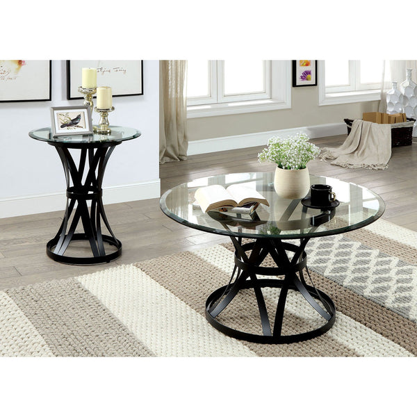 Oviola Contemporary Coffee Table - InteriorDesignsToGo.com
