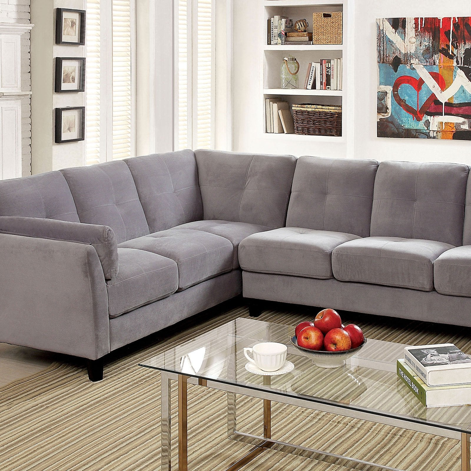 PEEVER II Contemporary One Arm Right Sofa - InteriorDesignsToGo.com