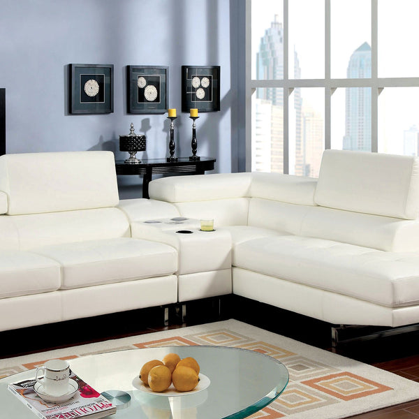 Kemi I Contemporary Sectional w- Adjustable Back & Arm - InteriorDesignsToGo.com