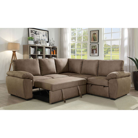 Alka Sectional Converts Into Bed - InteriorDesignsToGo.com