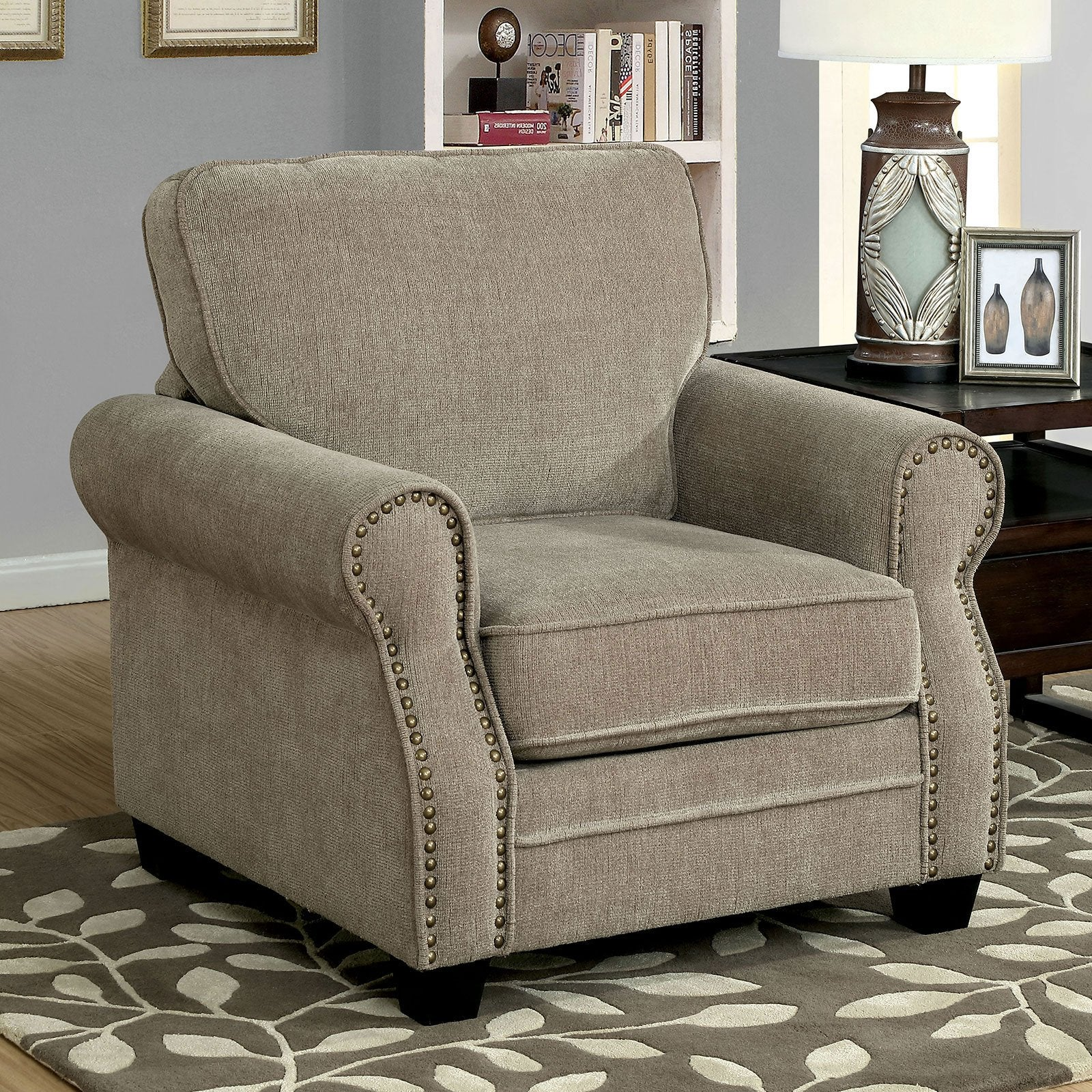 LYNNE Transitional Chair - InteriorDesignsToGo.com