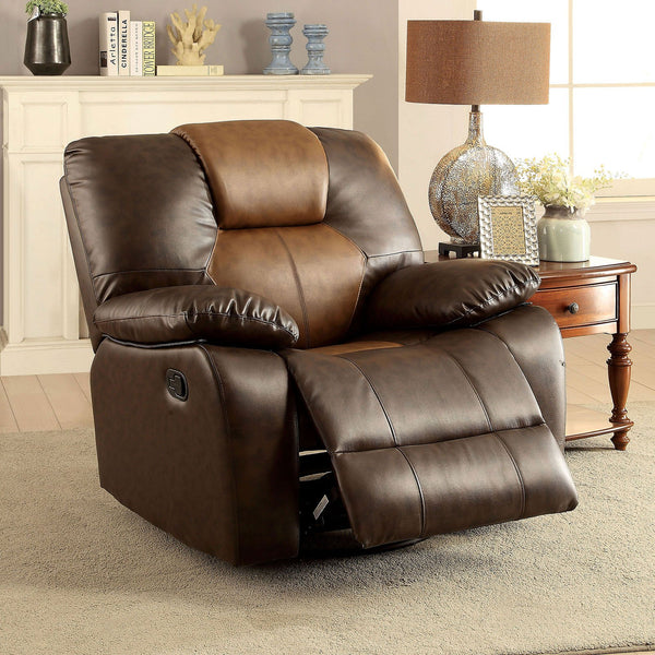 POLLUX Transitional Recliner - InteriorDesignsToGo.com