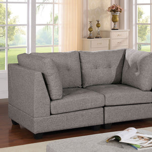 Pencoed Transitional Love Seat - InteriorDesignsToGo.com