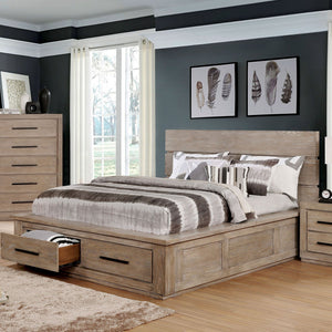 Oakes Transitional Queen Bed - InteriorDesignsToGo.com