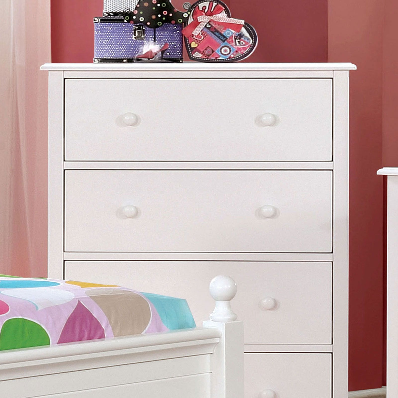 Dani Chest (White) - InteriorDesignsToGo.com