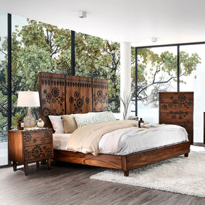 Amarantha Queen Bed (Bed Only) - InteriorDesignsToGo.com