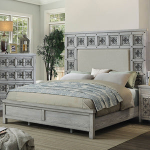 Pantaleon Transitional Cal.King Bed - InteriorDesignsToGo.com