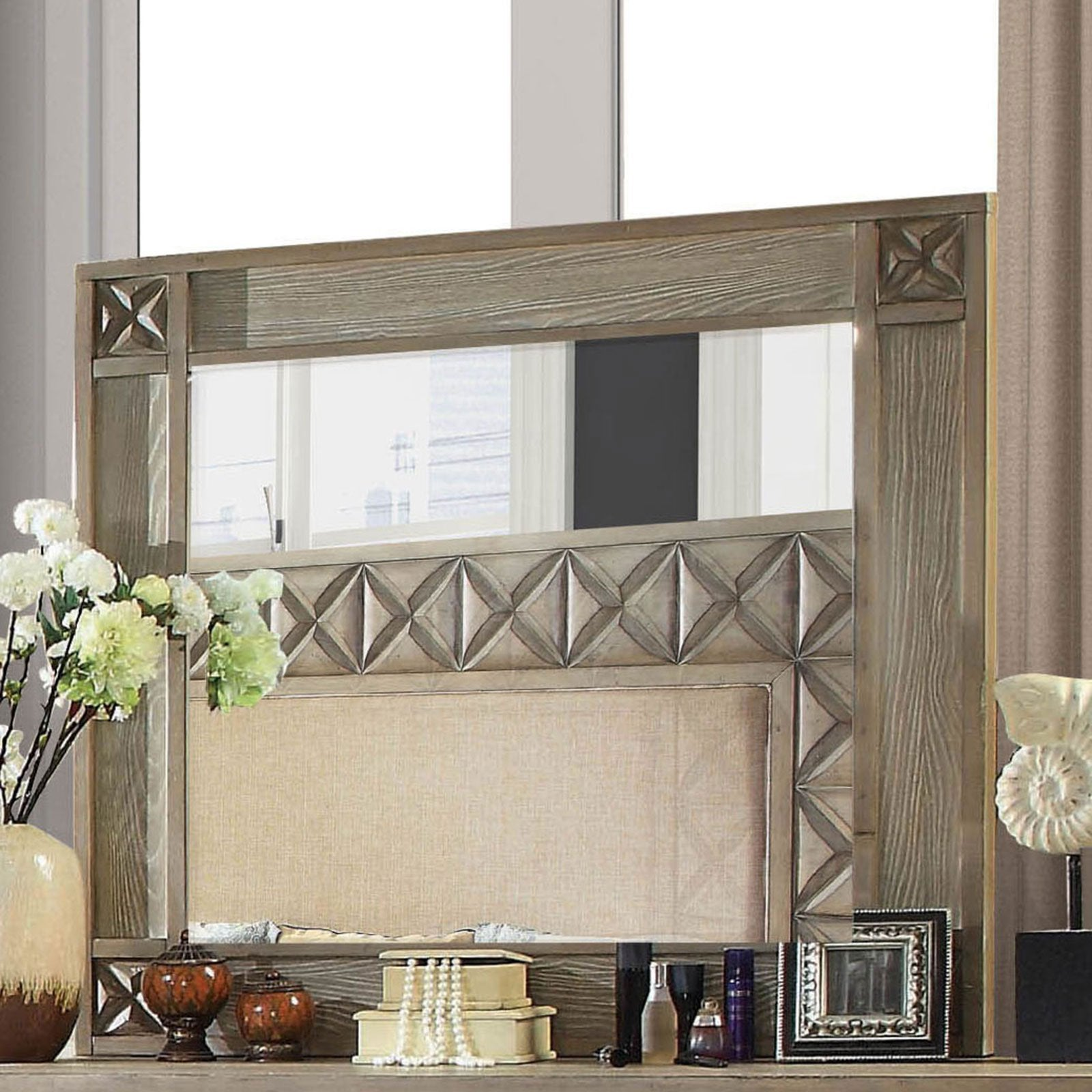 Markos Transitional Mirror - InteriorDesignsToGo.com