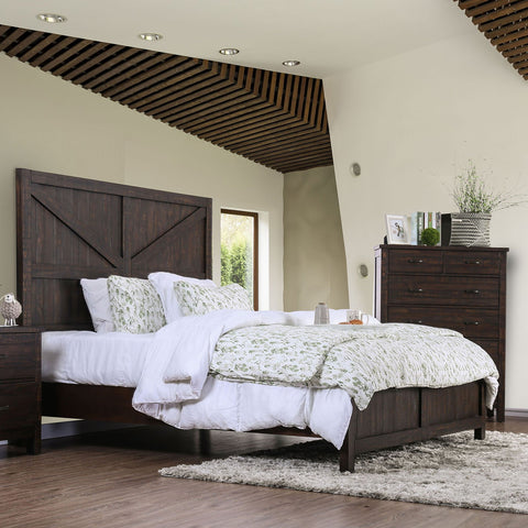 Brenna E.King Bed (Bed Only) - InteriorDesignsToGo.com