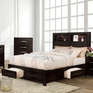 Karla Transitional 5 Pc. Queen Bedroom Set w- 2NS - InteriorDesignsToGo.com