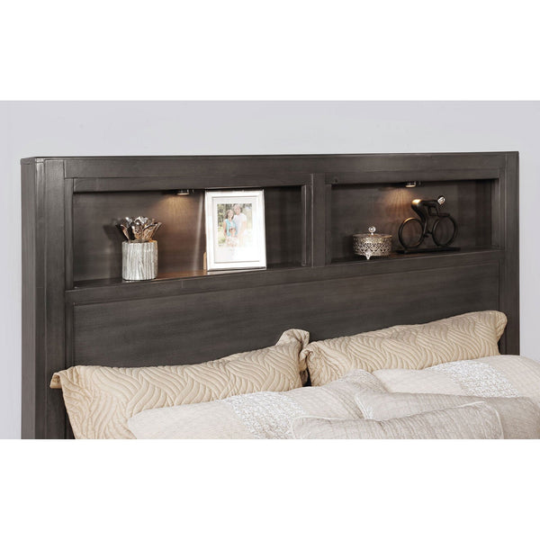 Karla Transitional Queen Bed - InteriorDesignsToGo.com
