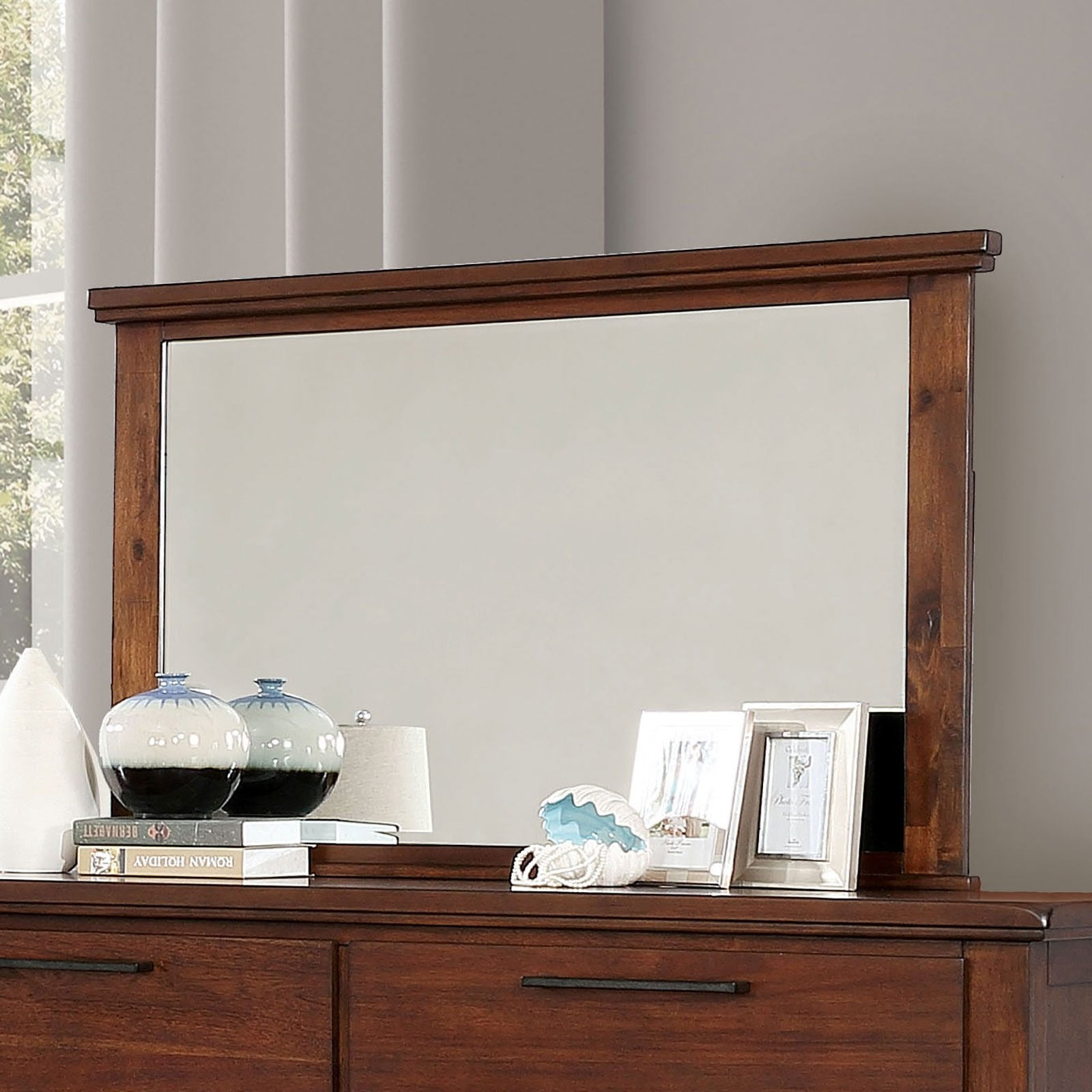 Knighton Transitional Mirror - InteriorDesignsToGo.com