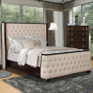 Camille Queen Bed - InteriorDesignsToGo.com