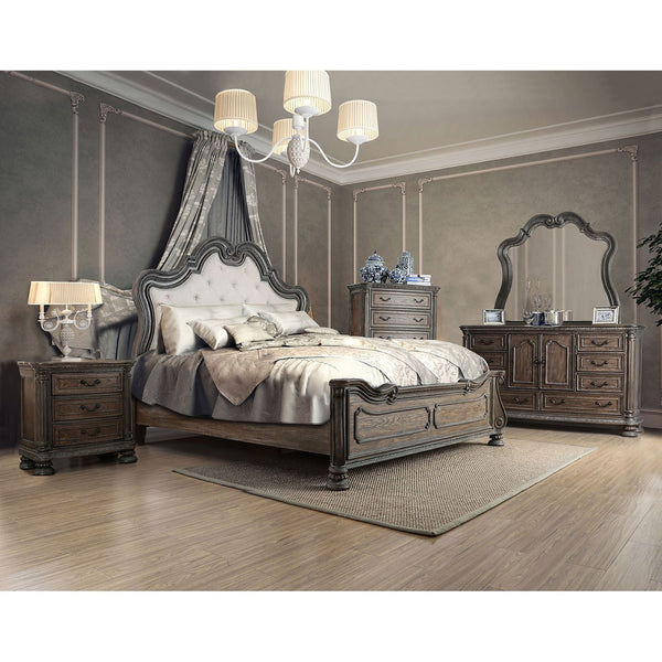 ARIADNE E.King Bed (Bed Only) - InteriorDesignsToGo.com