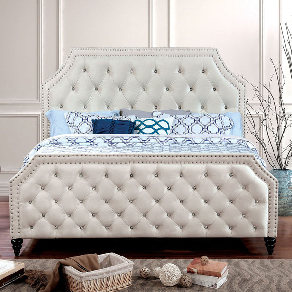 CLAUDINE Cal.King Bed - InteriorDesignsToGo.com