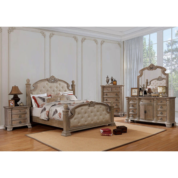 Montgomery Transitional Queen Bed - InteriorDesignsToGo.com