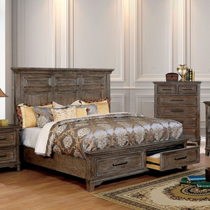 Oberon Transitional Queen Bed - InteriorDesignsToGo.com