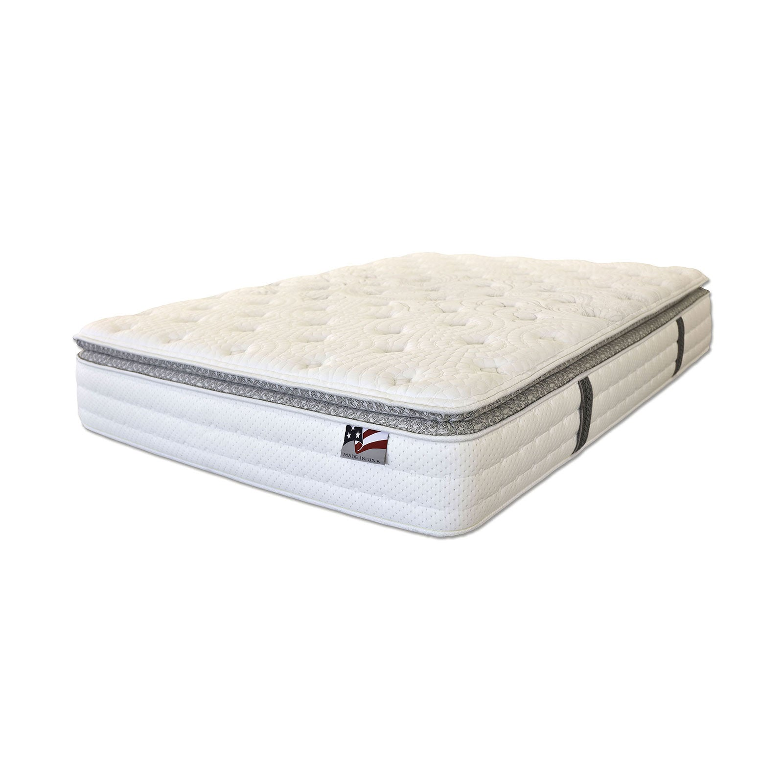 "ALYSSUM II Pillow Top W- Mem Foam 14"" Pillow Top Mattress, E.King - InteriorDesignsToGo.com"