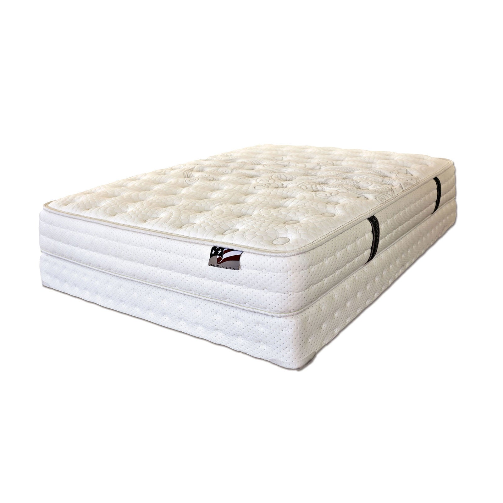 "ALYSSUM III Tight Top W- Mem Foam 12"" Tight Top Mattress, Cal.King (Foundation Sold Separately) - InteriorDesignsToGo.com"