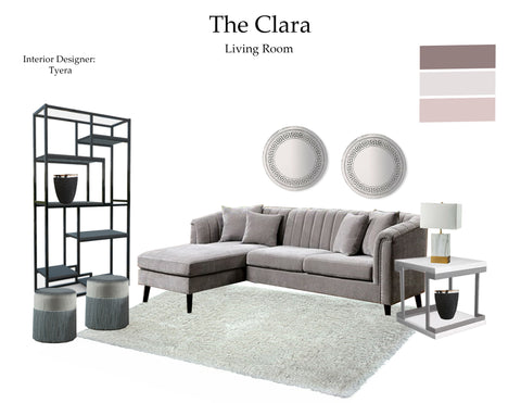 The Clara Living Room From $7.99 & Up For Full Bundle - InteriorDesignsToGo.com