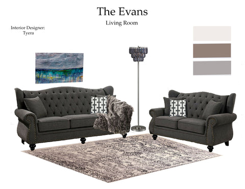 The Evans Living Room From $7.99 & Up For Full Bundle - InteriorDesignsToGo.com
