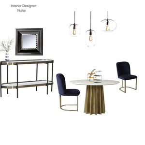 The Jazz Modern Dining room From $597.00 & Up For Full Bundle - InteriorDesignsToGo.com